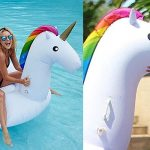 cool Pool Floats Giant Inflatable Unicorn