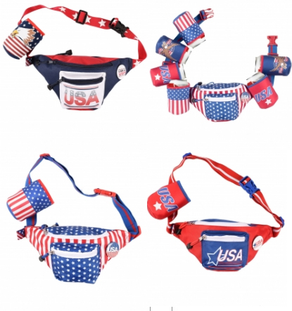 funny FANNY PACKS 4th of july