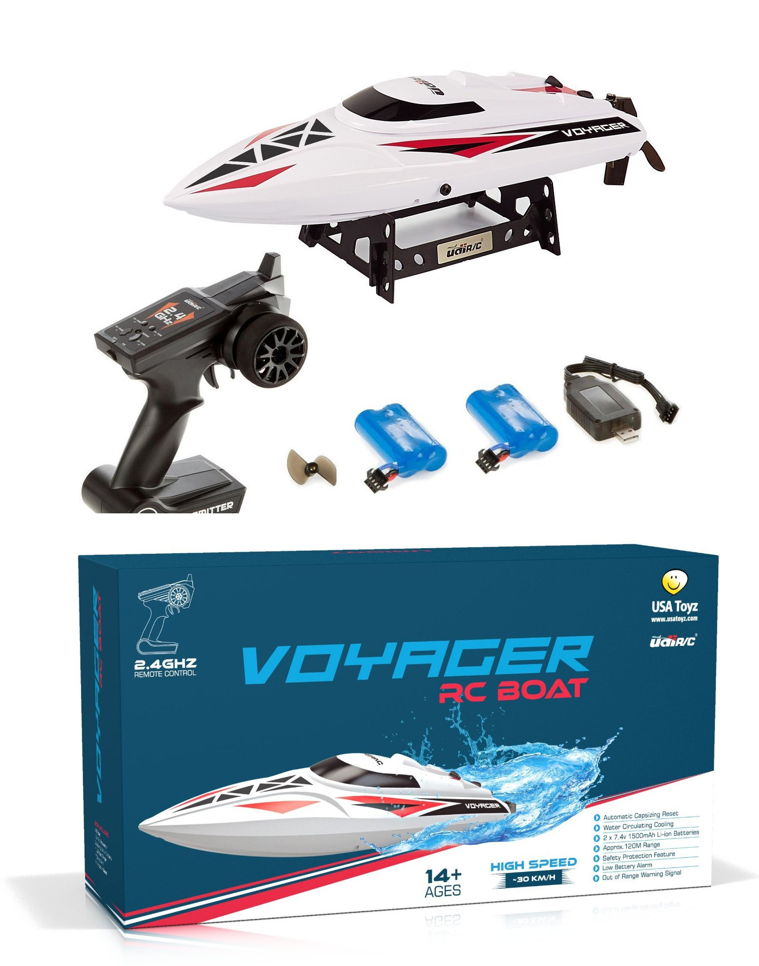 toys for dad 2016 Remote Control Boat for Pools Lakes and Outdoor Adventure