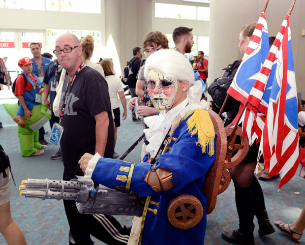 Bioshock Infinite motorized Patriot