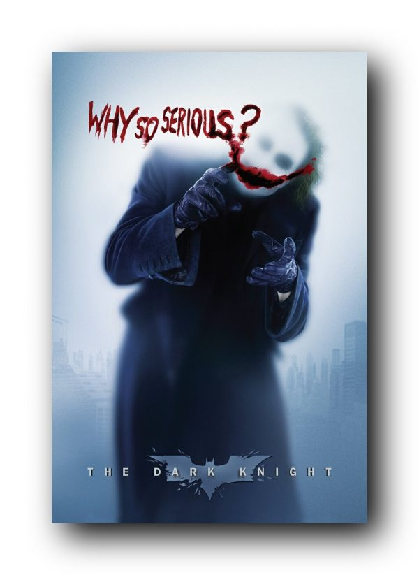 Dark Knight Why so Serious Joker Poster