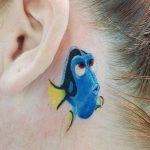 Dory Finding Nemo Tattoo