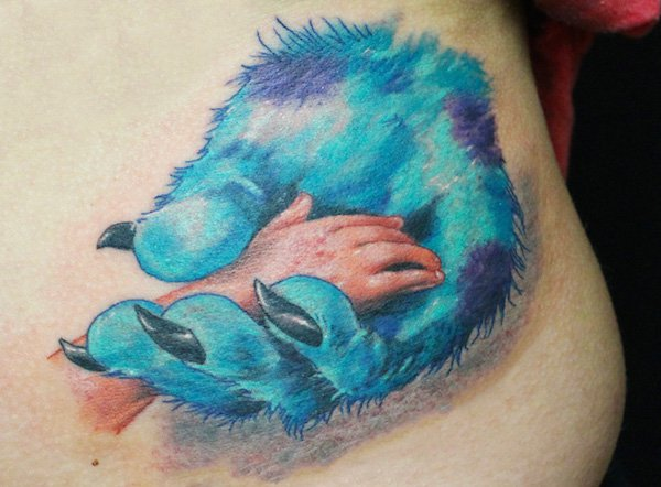 Hand in Hand Tattoo