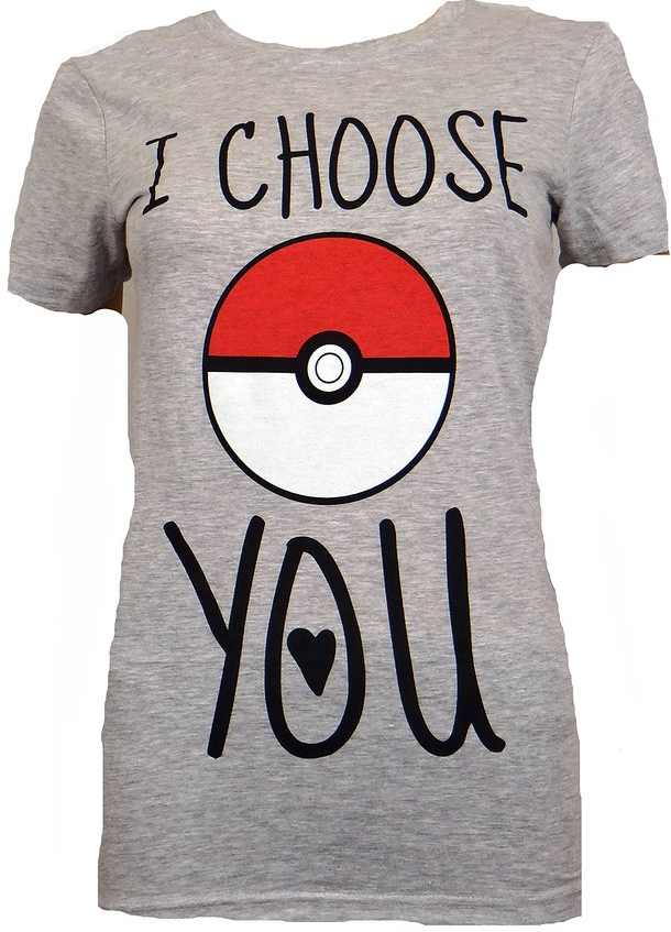 I Choose You Pokemon Shirt