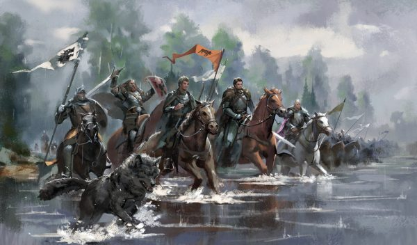 King Robb marching south