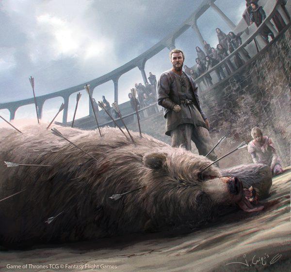 Knight, Maiden & a Bear
