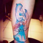Merida & Mom Tattoo