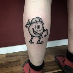 Mike Monsters Inc Tattoo