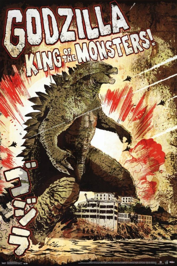 Original Godzilla Poster