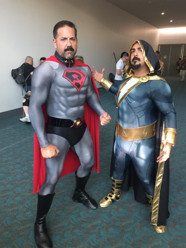 Red Son Superman & Black Adam