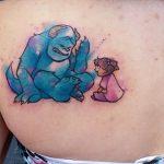 Sulley & Boo Tattoo