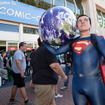Superman Carrying the World