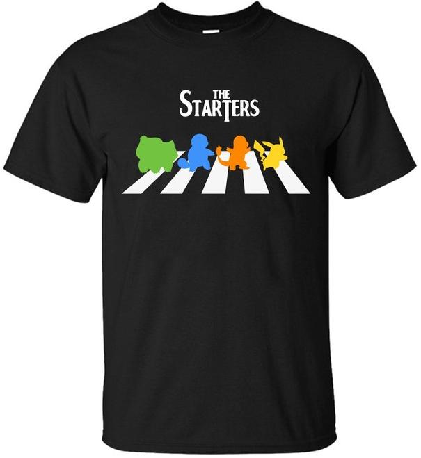 The Starters Pokemon Shirt