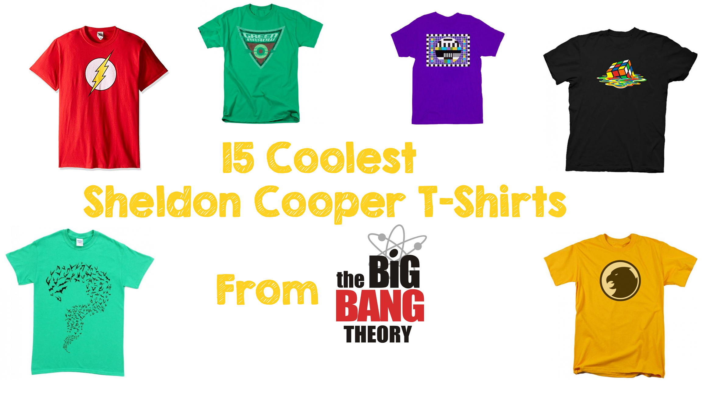 15 Coolest Sheldon Cooper T-Shirts From The Big Bang Theory