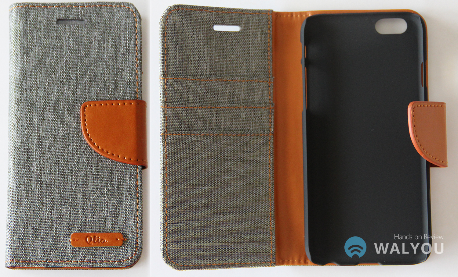 3-in-1 iPhone 6 Wallet Case Qlio