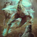 Ciri & Wolves