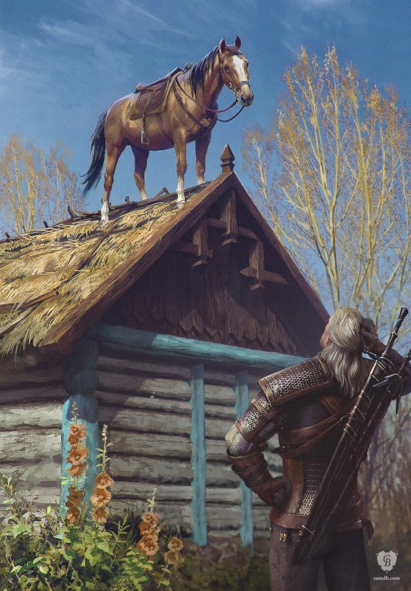 Geralt & Roach