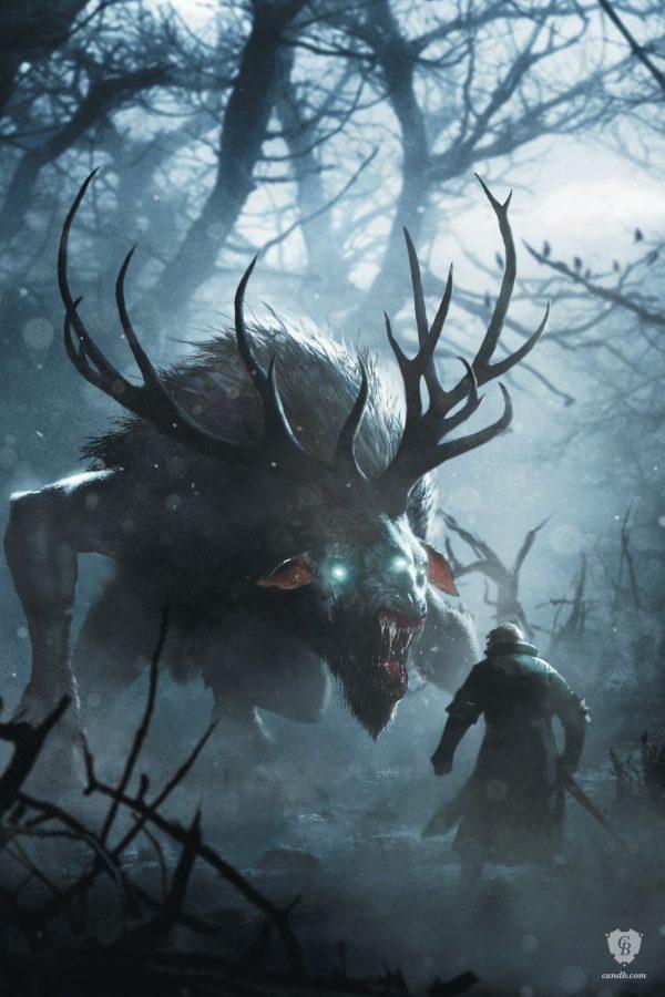Geralt vs Fiend
