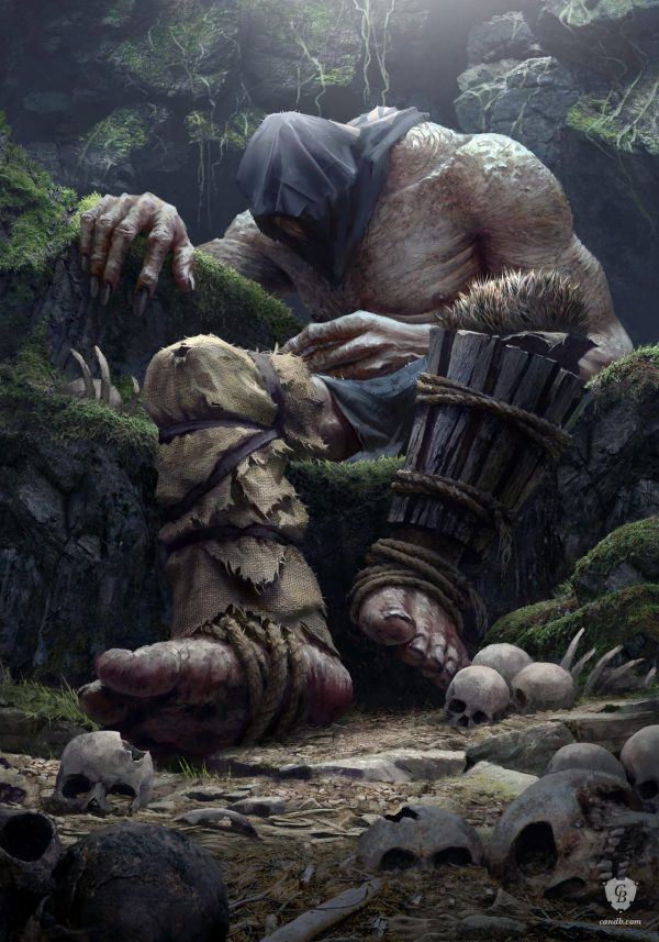 Giant Witcher 3