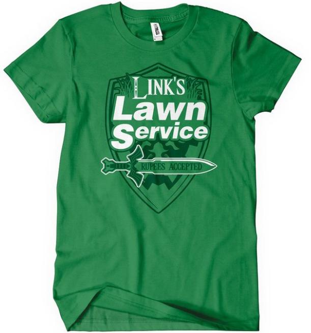 Link's Lawn Service Zelda T-Shirt