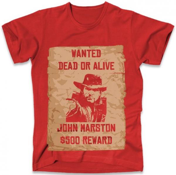 Red Dead Redemption John Marston T-Shirt