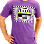 Sheldon Cooper Purple Test Pattern T-Shirt
