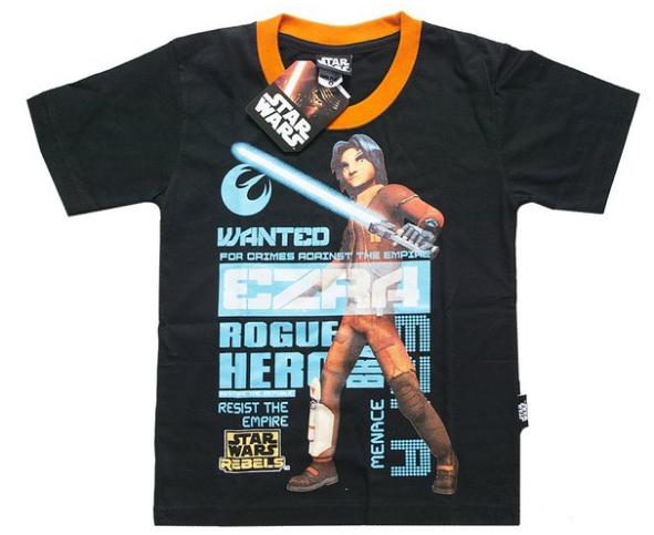 Star Wars Rebels Ezra Wanted T-Shirt