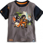 Star Wars Rebels Ezra, Zeb & Chopper T-SHirt