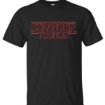 Stranger Things Title T-Shirt