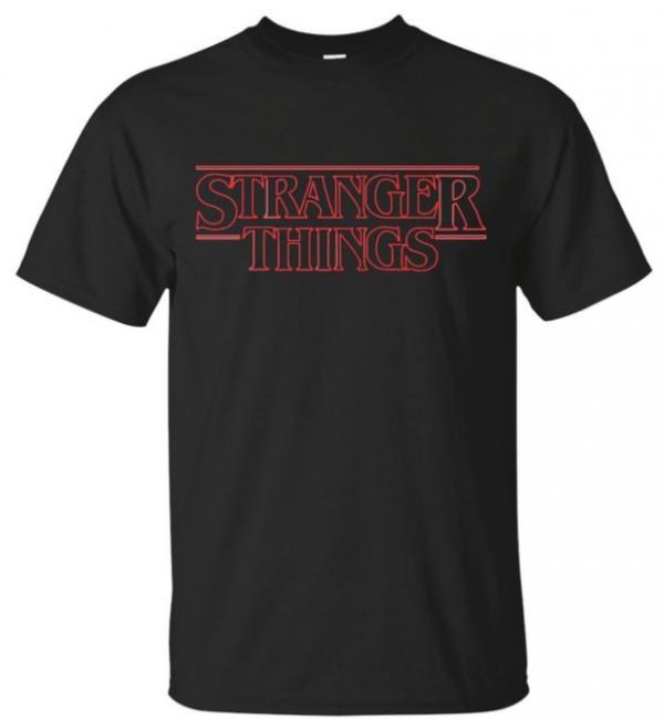 Stranger Things Title T-Shirt
