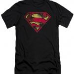 Superman War Torn Shield T-Shirt