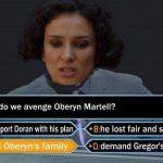 Avenging Oberyn