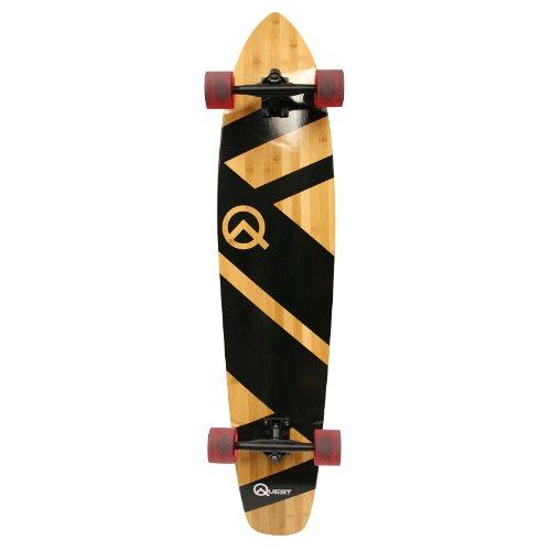 Black Super Cruiser Quest Skateboard