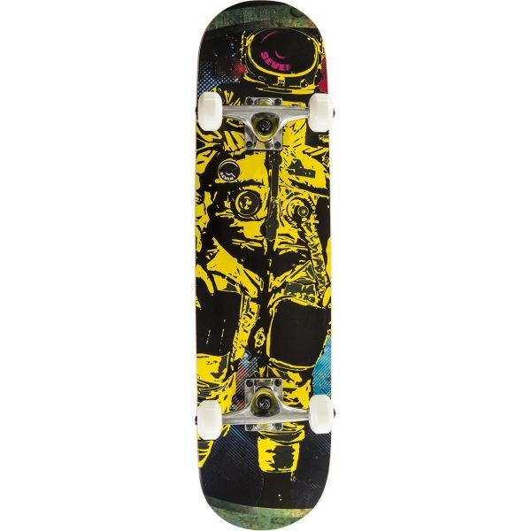Cal 7 Astronaut Popsicle Double Kicktail Skateboard
