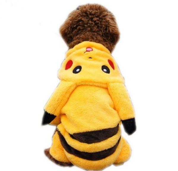 Dog Pikachu Costume