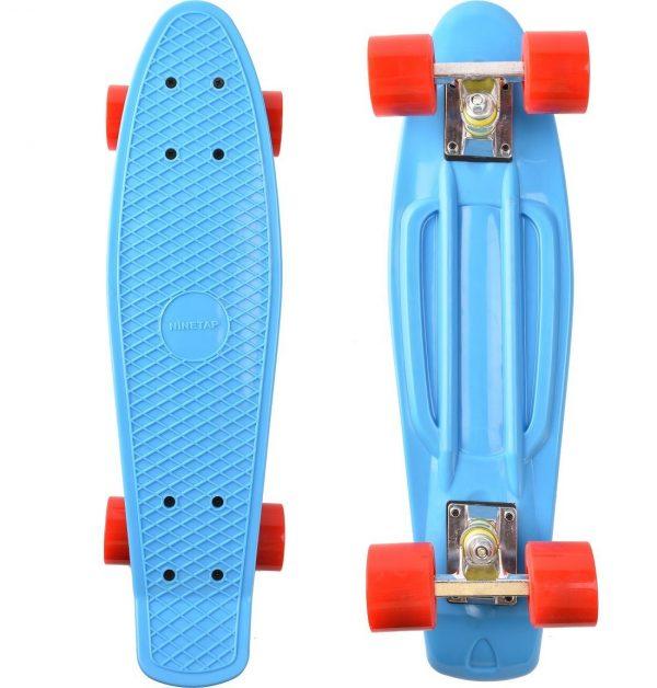 Nine Tap Retro Style Skateboard