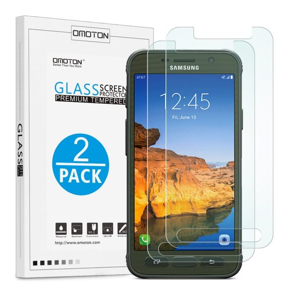 OMOTON Galaxy S7 Glass Screen Protector