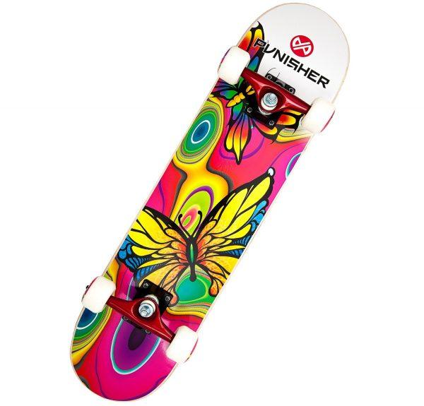 Punisher Skateboards Butterfly Jive Skateboard