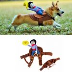 Riding Cowboy Dog Costume