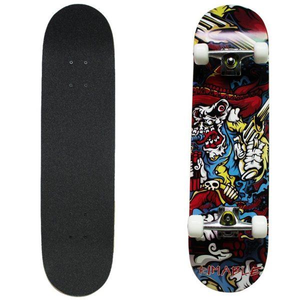 Rimable Maple Skateboard 31 Inch