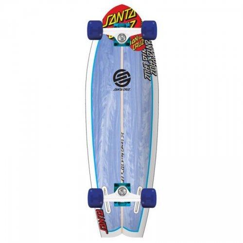 Santa Cruz Skate Land Shark Skateboard