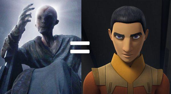 Snoke is Ezra