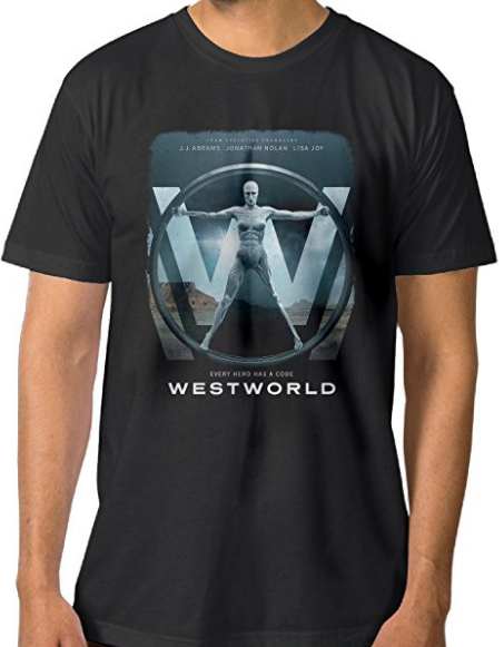 Westworld Every Hero has a Code T-Shirt