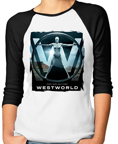 Westworld Middle Sleeve Women's T-Shirt