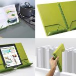 best baker gift 2016 CookBook Compact Folding Bookstand for ipad and cooking books