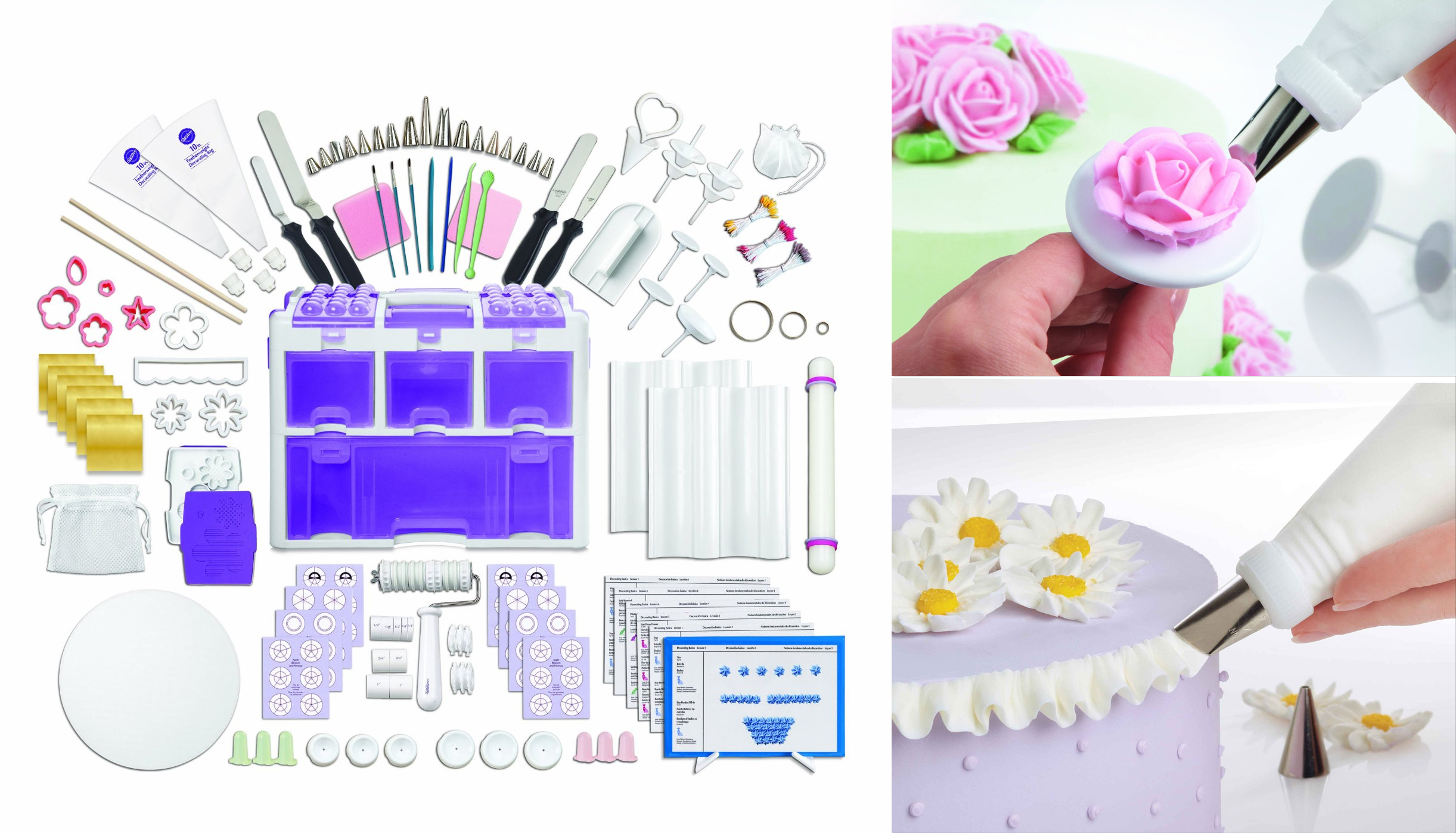 best gifts 2016 for bakers Professional Cake Decorating Set