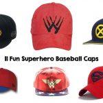 11 Fun Superhero Baseball Caps