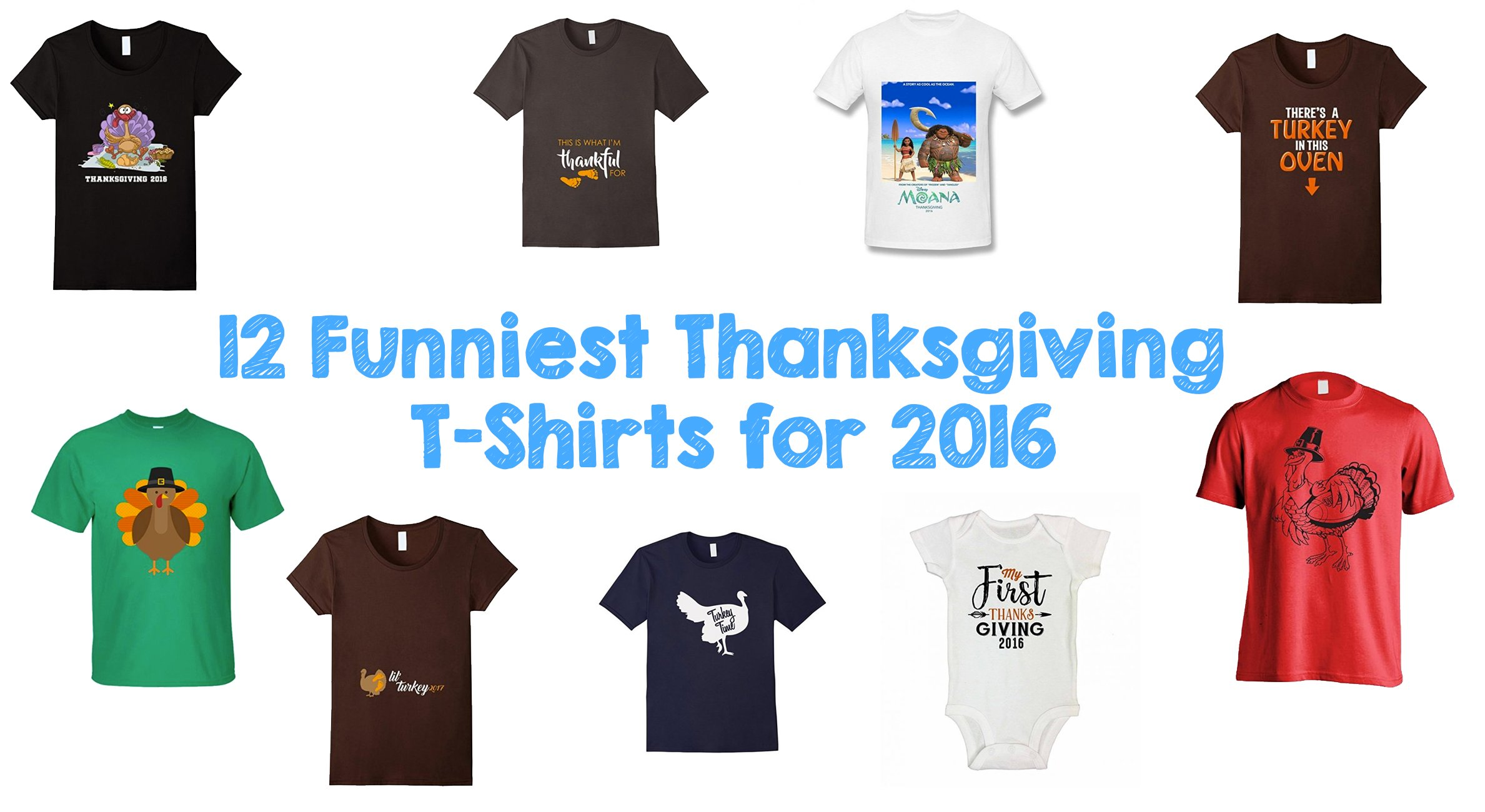 12 Funniest Thanksgiving T-Shirts for 2016