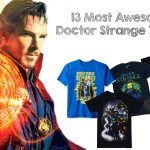 13 Most Awesome Doctor Strange T-Shirts