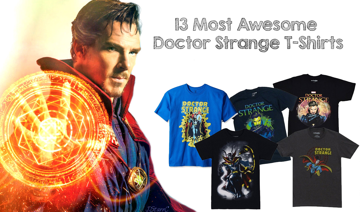 13 Most Awesome Doctor Strange T Shirts Walyou Lego Movie Tee